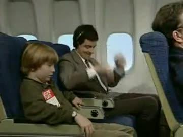 Jaś Fasola - W samolocie