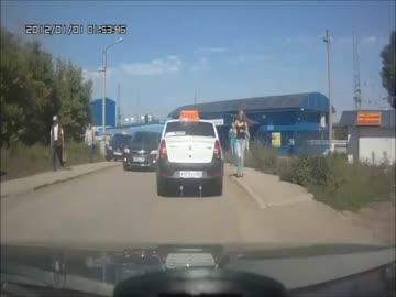 Wypadki samochodowe w Rosji - wrzesień 2012