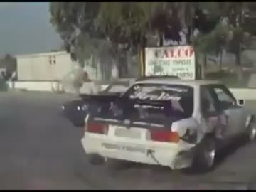 Drift dwoma BMW naraz !