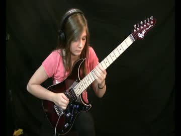 14-latka i gitara