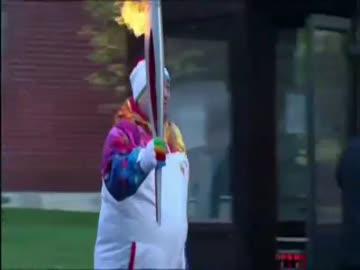 Rosjanie dali plamę! Zgasł im ogień olimpijski!