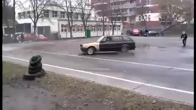 BMW nie wytrzymało ciśnienia
