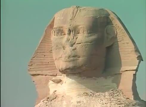 Sfinks Strażnik Tajemnic Piramid.  Dokument