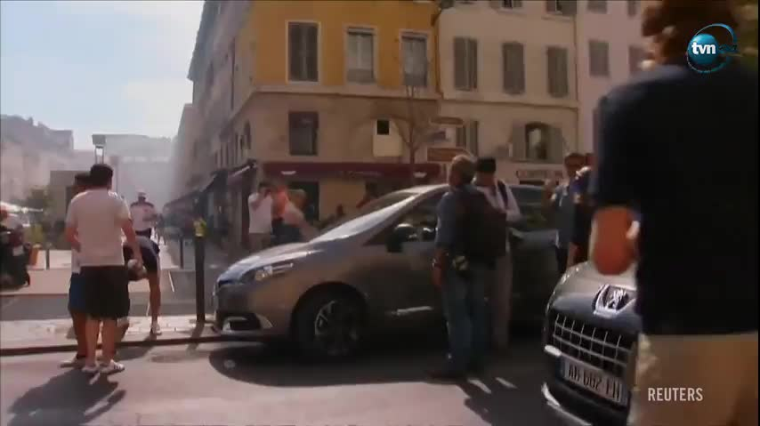 W Marsylii przed sobotnim meczem w grupie B piłkarskich mistrzostw Europy, w którym zmierzą się repr