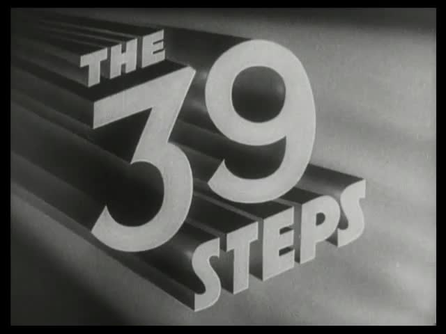 39 kroków - The 39 Steps