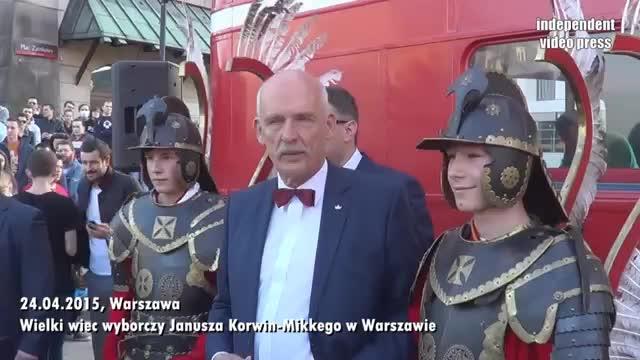 Janusz korwin-Mikke - Wielki Wiec we Wrocławiu (26.04.2015 ...