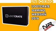 """wesprzyj mnie na: http://patronite.pl/nrgeek  Unboxing popularnego LootCreate'a z serii LootGaming na miesiąc wrzesień. Zapraszam!   P.S. Nie pytajcie czy dostałem polskie pixelboxy czy coś, nie dostałem bo nie jestem za fajny na polskie, na amerykańskie już tak :D  Jeśli marzy Ci się takie pudło wbijaj na: http://lootcrate.com/nrgeek  jak chcesz cebula promo 10% wpisz kod: nrgeek-loot  Podobało się? Daj łapiszona w górę, motywuje mnie to do dalszej pracy. Dzięki!  Zapraszam także do subskrypcji kanału i oglądania moich innych filmów.  Ponadto znajdziecie mnie na facebooku gdzie będzie trochę więcej nowych informacji, także śmiało możecie """"lajkować"""" albo i nie :) Wybór należy do Was  Napisz do mnie: nrgeek00@gmail.com Patronite.pl: https://patronite.pl/nrgeek Płyta Kamikaze - Ostatni Raz: https://nrgeek.bandcamp.com/releases Geekowe koszulki: http://nrgeek.teetres.com/wszystkie Inne Geekowskie koszulki: http://nrgeek.cupsell.pl Fejsbuczek: http://www.facebook.com/NRGeek Instagram: https://www.instagram.com/nrgeek00/ Hitbox: http://www.hitbox.tv/NRGeek Twitch: http://pl.twitch.tv/nrgeek00 Ask.fm: http://ask.fm/nrgeek00 Oficjalna grupa NRGeekowcy: https://www.facebook.com/groups/291586821048881/?fref=nf"""