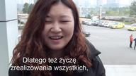 Chińczycy i nie tylko, składają życzenia noworoczne w języku polskim.