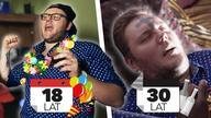 Impreza sylwestrowa wygląda nieco inaczej, kiedy masz 18 lat a kiedy masz 30... Życzymy udanej imprezy!  Odwiedź nasz sklep: http://ponki.mediakraft.tv/  Instagram: http://instagram.com/ponkersi Facebook: https://www.facebook.com/ponkersi  Współpraca: anna.sroczynska@mediakraft.tv  Ponki - grupa szaleńców, która każdego tygodnia dostarczy wam świeżą dawkę najlepszej internetowej komedii.  Chcesz więcej? Subskrybuj nasz kanał i sprawdź Ponki na facebooku: https://www.facebook.com/ponkersi    ---  https://www.facebook.com/Mediakrafttv https://instagram.com/mediakraft.tv https://twitter.com/mediakraftpl https://www.youtube.com/user/Mediakraftpolska  Film wyprodukowany przez: Mediakraft PL Sp. z o.o. ul. Nowy Świat 60/8, 00-357 Warszawa Managing Directors: Levent Gültan, Ryan Socash Mediakraft PL Sp. z o.o. is a subsidiary of Mediakraft Networks GmbH