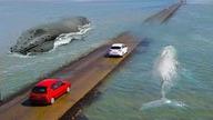 Jak nie zdążysz przejechać na czas to skończysz na dnie oceanu! Lista Najniebezpieczniejszych dróg na świecie. Zostaw kciuka w górę