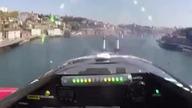 Widok z kabiny pilota