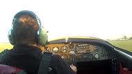 Pilot przeżył